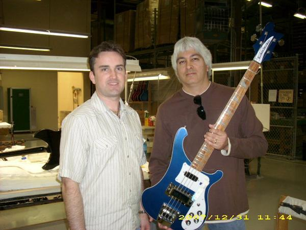 With Rickenbacker's Ben Hall