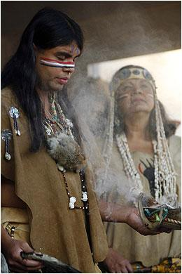 Tongva Tribe members